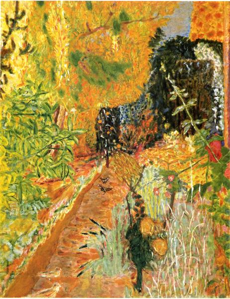 The Garden, c.1937 - Pierre Bonnard