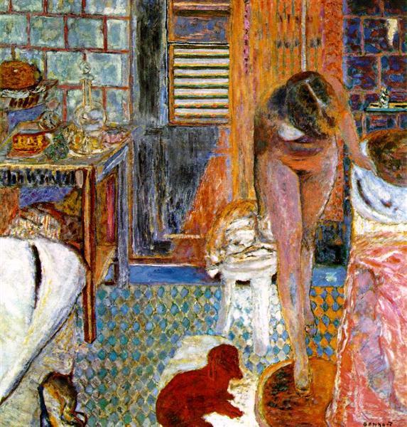 The Toilet, c.1932 - Pierre Bonnard