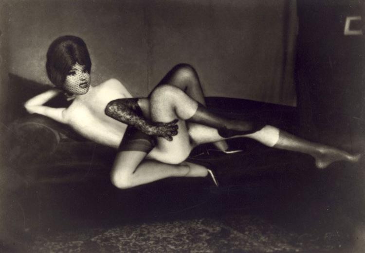 L'odalisque turbulente, 1967 - Pierre Molinier