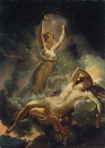 Aurora  and Cephalus 2 - Pierre Narcisse Guérin