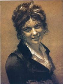 Portrait of Constance Mayer - Pierre Paul Prud'hon