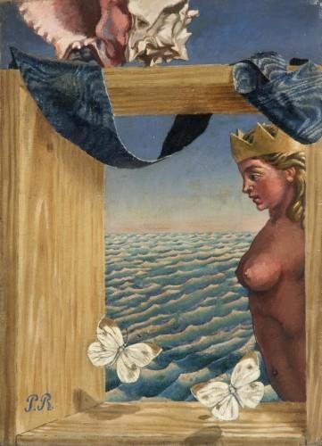 Proue de naivre et papillons, 1925 - Pierre Roy