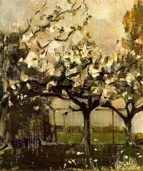 Alberi, 1908 - Piet Mondrian
