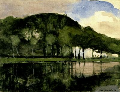 Along the Amstel, 1903 - Piet Mondrian