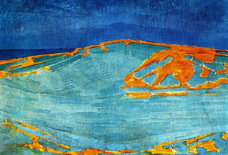 Dune in Zeeland, 1910 - Piet Mondrian
