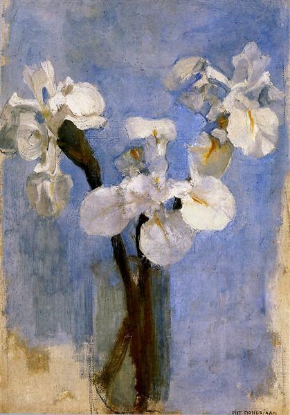 Flowers Sun, 1909 - Piet Mondrian