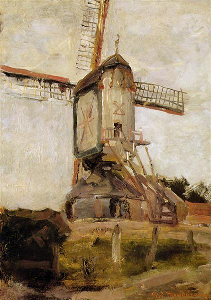 Mill of Heeswijk Sun, 1904 - Piet Mondrian