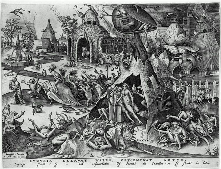 Lust, c.1558 - Pieter Bruegel the Elder