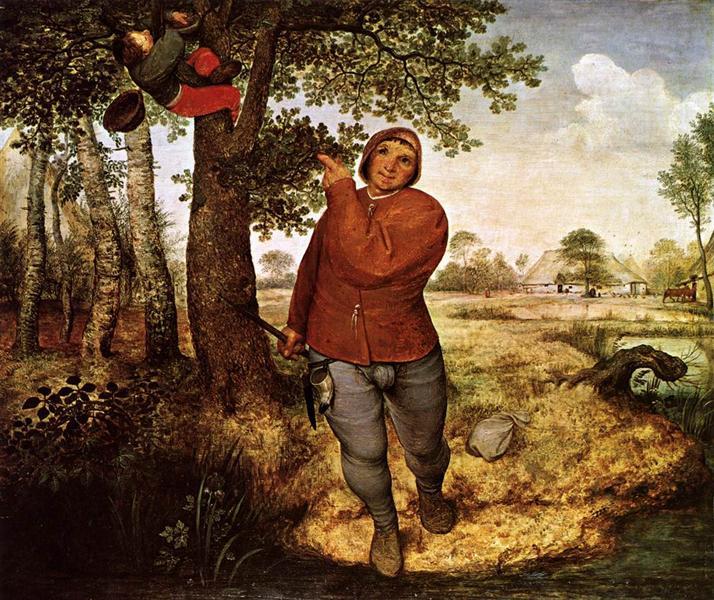 Селянин і птахолов, 1568 - Пітер Брейгель старший