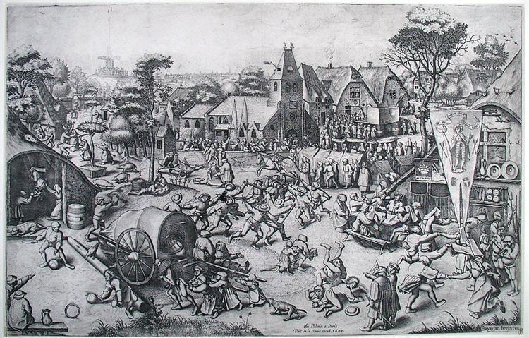The Fair on St. George's Day, c.1557 - c.1561 - Pieter Bruegel the Elder