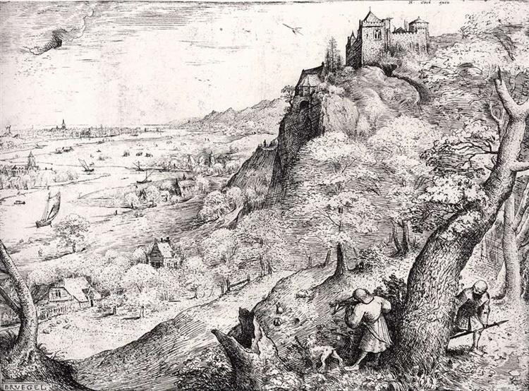The Hare Hunt, 1560 - Pieter Brueghel l'Ancien