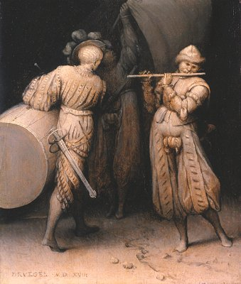 Three soldiers, 1558