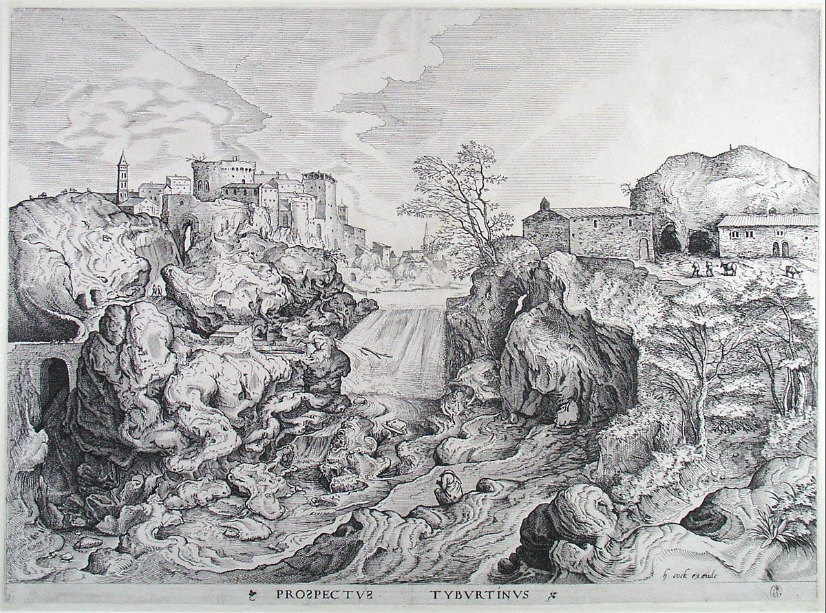 View of Tivoli, 1555-1556