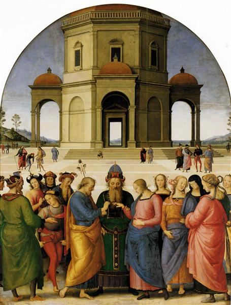 Marriage of the Virgin - Pietro Perugino