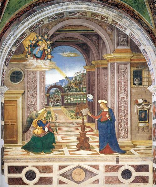 The Annunciation, 1501 - Pinturicchio