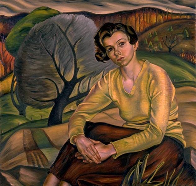 Girl in Yellow Sweater, 1936 - Prudence Heward