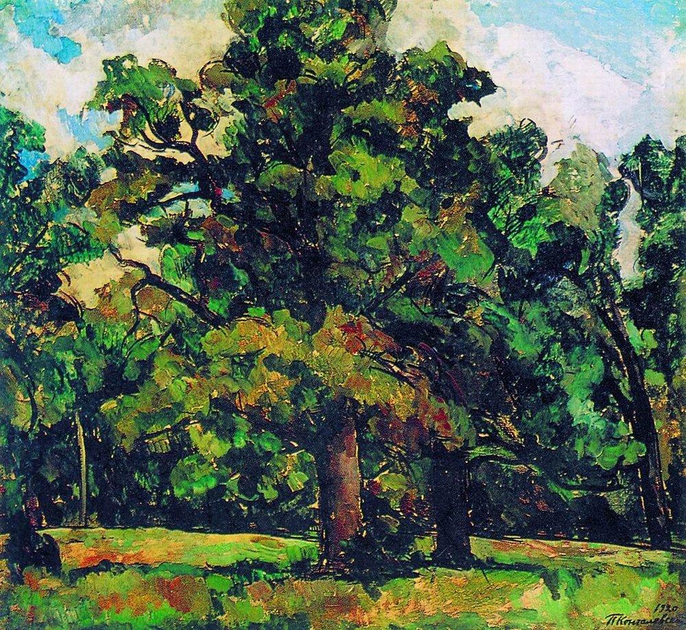 Abramtsevo. Oak Grove., 1920