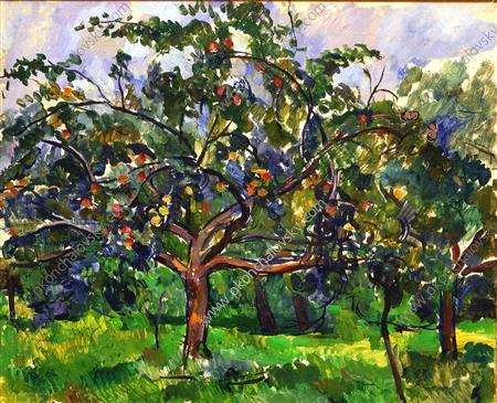 Apple trees, 1922