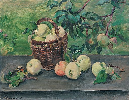 Apples on the window, 1932