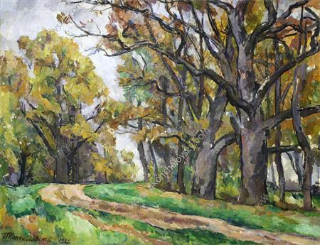 Autumn road, 1921