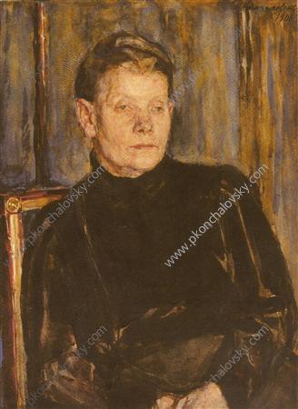 Portrait of Akulina Maximovna Kopaneva, 1906