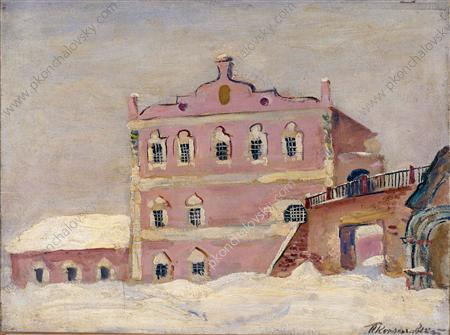 Ryazan. House of Oleg., 1931