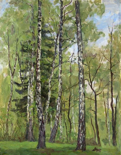 Spring Day, 1955 - Pjotr Petrowitsch Kontschalowski