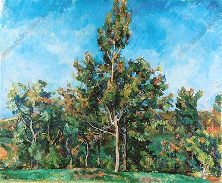 Tree against the sky, 1923