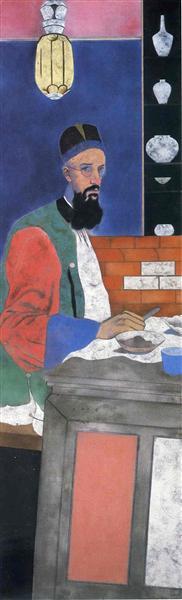 The Orientalist - R. B. Kitaj