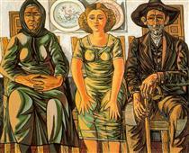Peasant family - Rafael Zabaleta