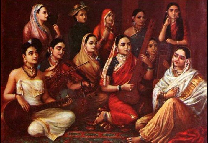 Galaxy of Musicians - Raja Ravi Varma