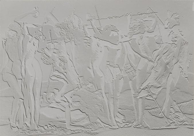 Maquette pour un mur (Model for a Wall), 1938 - Raoul Ubac