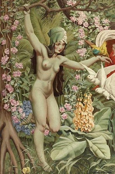 Femme nue - Delorme Raphael