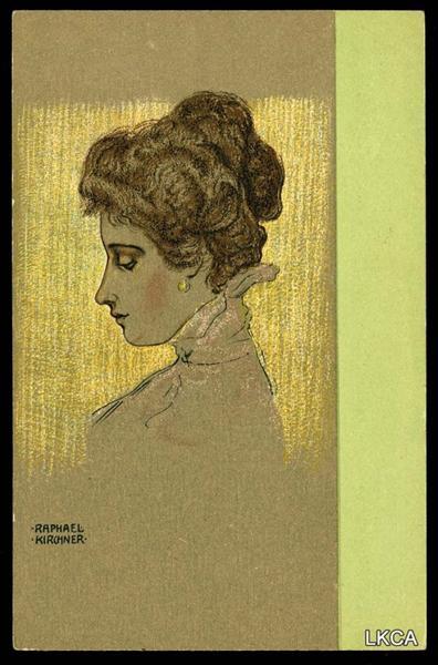 Portraits of Viennese Ladies, 1901 - Raphael Kirchner
