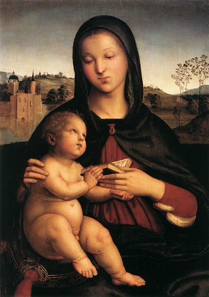 Madonna and Child - Raphael