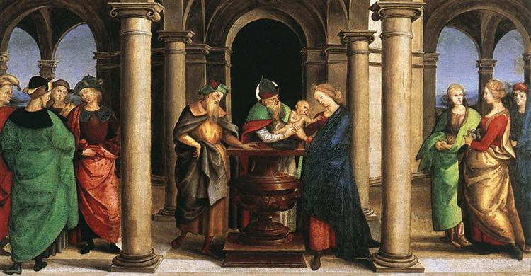 The Presentation in the Temple, 1502 - 1503 - Raphael