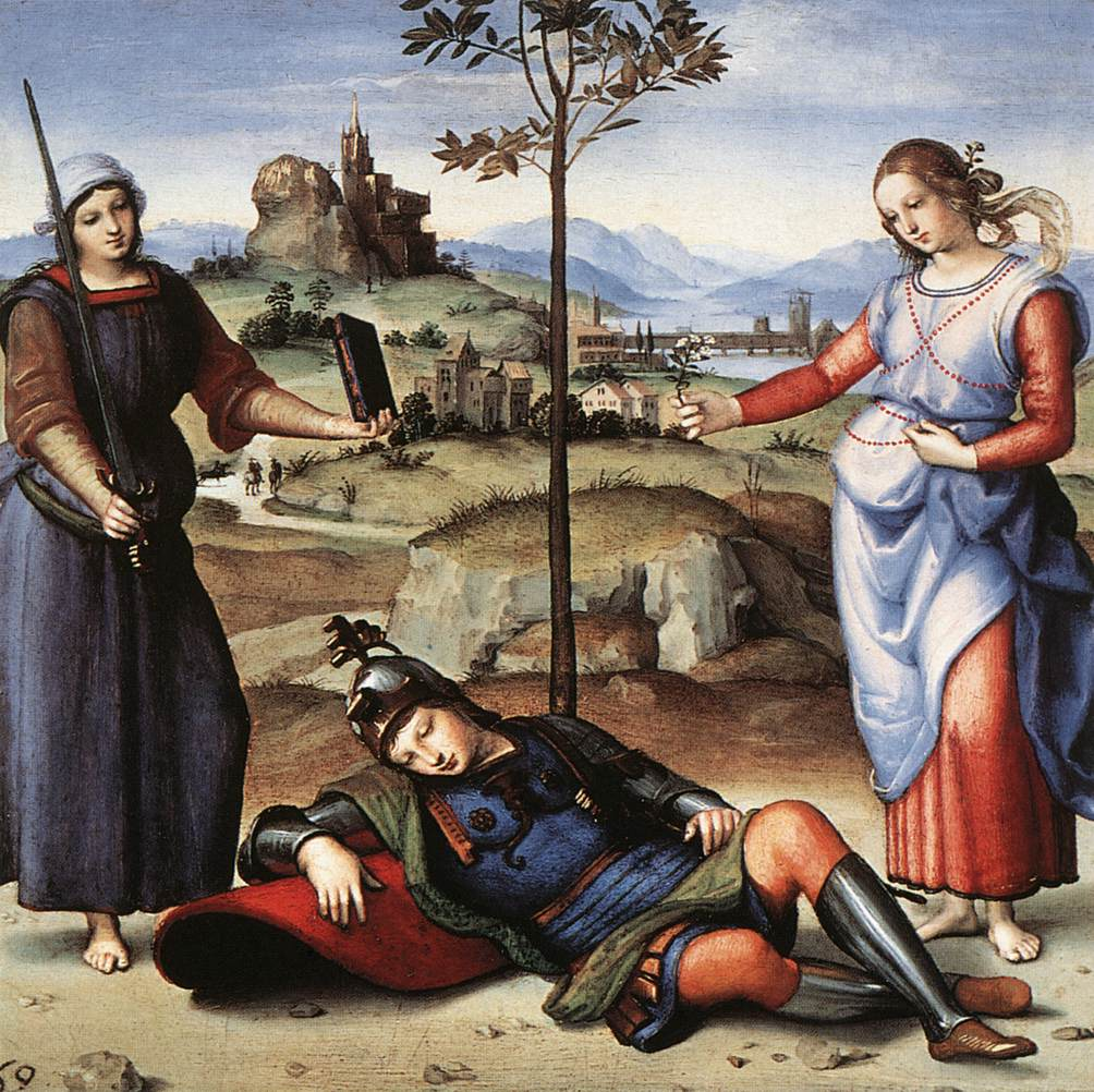 Vision of a Knight, 1504
