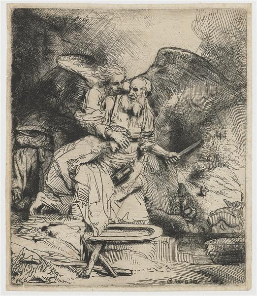 Abraham's Sacrifice, 1655 - Rembrandt