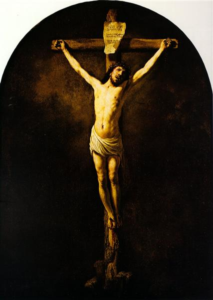 Christ on the Cross - Rembrandt
