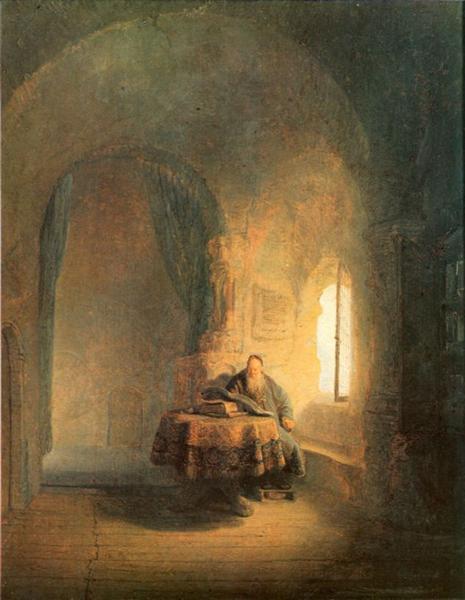 Philosopher Reading, 1631 - Rembrandt