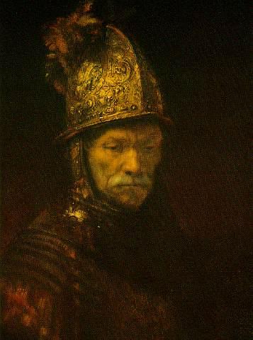 Portrait of a Man with a Golden Helmet, 1648 - Rembrandt