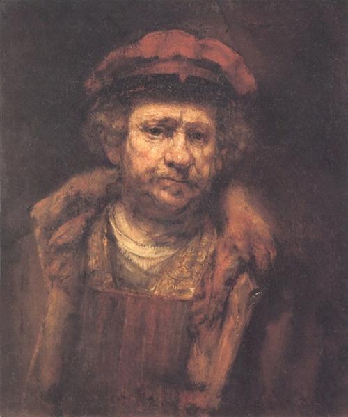 Self-portrait, c.1660 - Rembrandt van Rijn