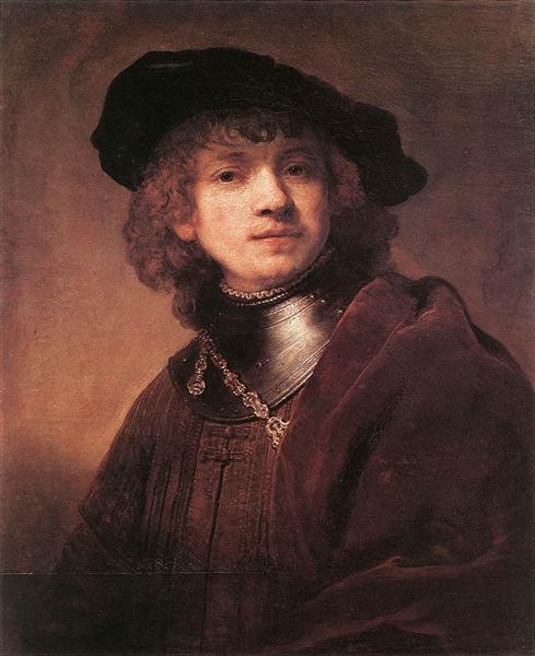 Self-portrait as a Young Man, 1634 - Rembrandt