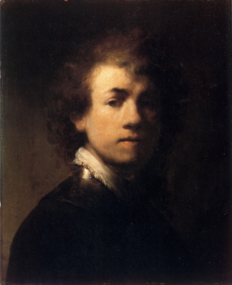 Self-portrait In A Gorget, c.1629 - Rembrandt - WikiArt.org