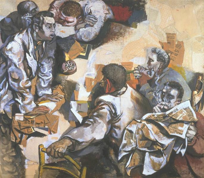 The Discussion, 1960 - Renato Guttuso