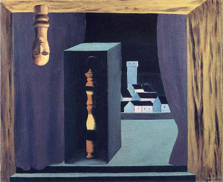 A famous man, 1926 - Rene Magritte