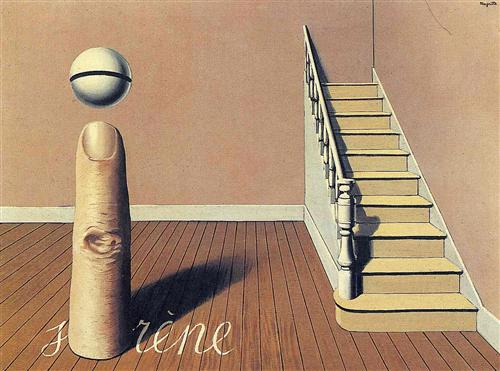Forbidden literature (The use of the Word)  - Rene Magritte