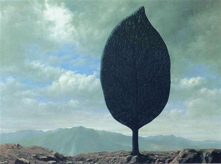 Plain of Air, 1940 - Rene Magritte