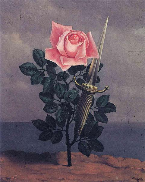The blow to the heart, 1952 - Rene Magritte