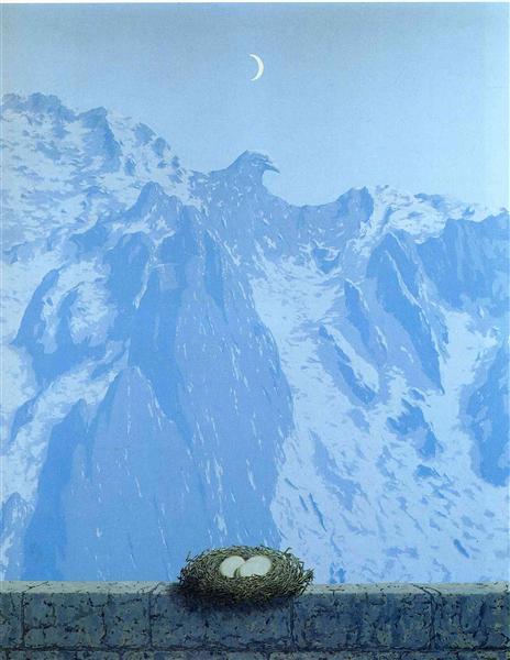 The domain of Arnheim, 1962 - Rene Magritte